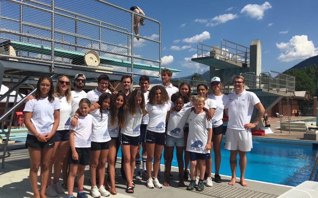 Plongeon, la relève Genevoise est assurée avec des Championnats Suisses Junior d'été 2019 couronnés de succès