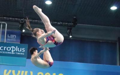 Les Genevois Heimberg et Suckow remportent le bronze aux Championnats d'Europe de Plongeon